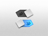 Twitter toggle button
