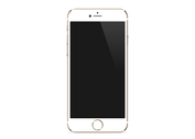 iPhone 6 Vector (gold)