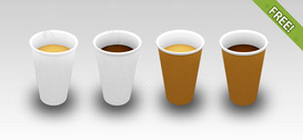 4 Free Coffee Cup Icons