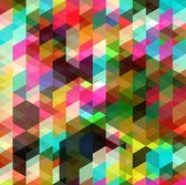 Abstract Vector Art de couleur