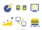 Big Data Management Icons Vector Pack 5