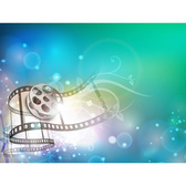 Fantasy Film Abstract Bokeh Background