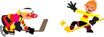 Hockey sport vector 2