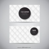 Business card free layout
