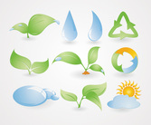 Environmental Icons Vector Set (Free)