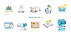 Beautiful Vista Style Icons Vector Graphic-3