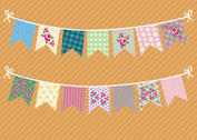 Vintage Shabby Chic Garlands