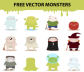 Free Cartoon Monster Characters