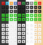 50 mueren corte Icon Set