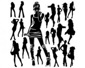 Female Silhouettes Vector pack