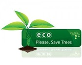 Free Stock Banner Eco Leaf concept