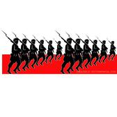 MARCHING ARMY VECTOR GRAPHICS.eps