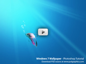 Windows 7 Wallpaper - Photoshop Video Tutorial (HD)