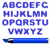 Different letters of the alphabet 05
