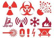 Warning And Hazard Icons