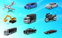 Icons-Land Transport Vector Icons