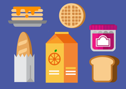 Breakfast Food Vector Pack