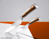 Wusthoff Knives (2 Vectors)