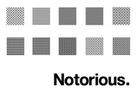"10 ""Notorious"" Repeatable Pixel Patterns PAT"