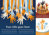 Raise A Hand Theme Vector Of Material
