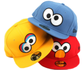 sesame street new era hats PSD