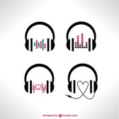Vector headphones set