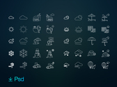 Indra - 80 free weather & activities icon