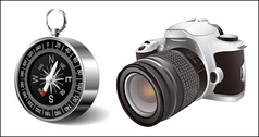 Digital SLR and the compass