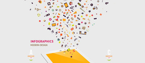 Electronics Digital Infographics