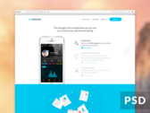 Source Landing Page [+PSD]