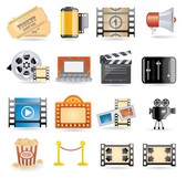 movie icon vector 4