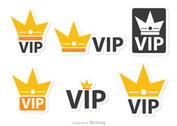 Crown Vip Icons Vector Pack