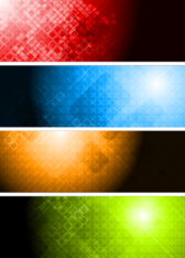 4 Abstract Backgrounds PSD