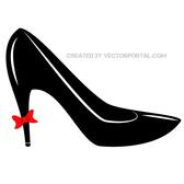 HIGH HEEL VECTOR CLIP ART.eps