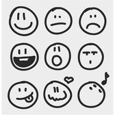 SKETCHY EMOTION VECTOR ICONS.eps