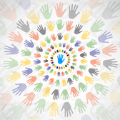Free vectors colorful hands download