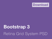 Bootstrap 3 Grid System - 1140px and Retina Ready