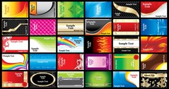 Brilliant Color Business Card Templates 02