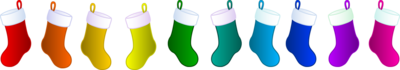 Christmas Stockings PSD