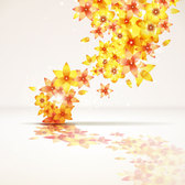 Free vector about abstract flower background