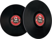 Vinyl Records PSD
