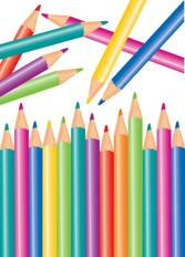Colorful Color Pencil