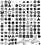 Free Japanese Traditional Elements Vector Set