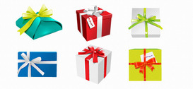 Holiday PSD Gift Boxes