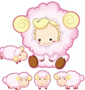 Sheep vector 4