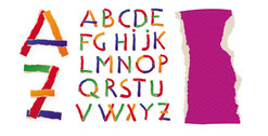 Different letters of the alphabet 02