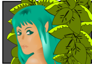 Elf in the forest