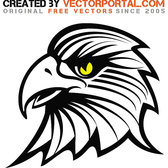 EAGLE STOCK VECTOR DRAWING.eps