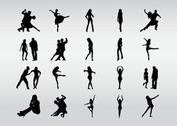 Dancers Silhouettes