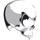 Vampire Skull Vector Resource